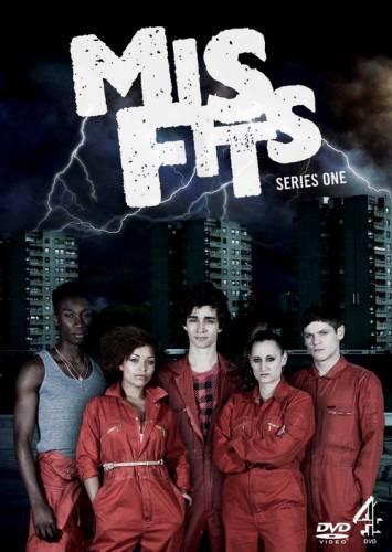 Смотреть онлайн Отбросы / Misfits 1 сезон
